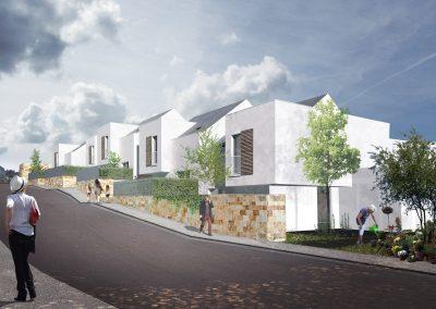 Construction de 46 logements sociaux 19 maisons et 22 logements en accession, Longpont-sur-Orge