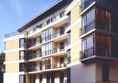 Construction neuve  de 82 logements sociaux PLA, rue Joseph-de-Maistre, Paris XVIIIe