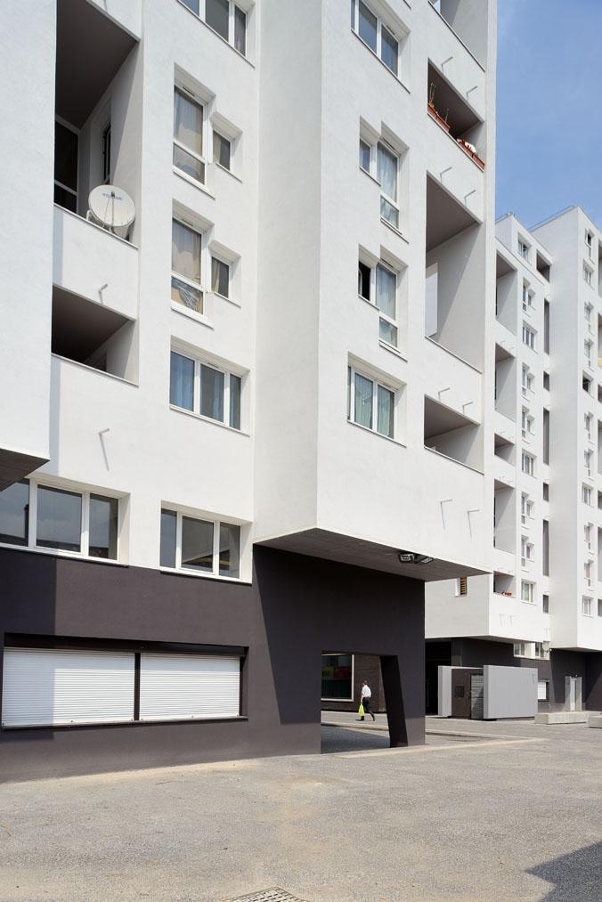 r habilitation de 496 logements sociaux villeneuve d ascq opera architectes. Black Bedroom Furniture Sets. Home Design Ideas