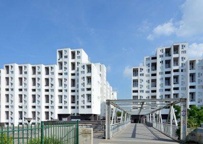Réhabilitation de  496 logements sociaux, Villeneuve d'Ascq