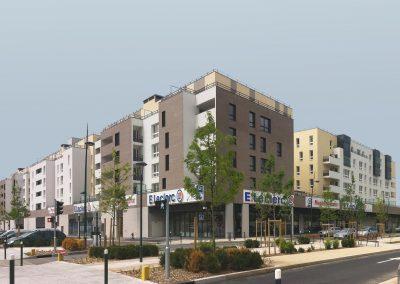 Ecoquartier des Joncs Maris – Lot 1.1, Fleury-Mérogis