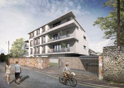 Construction de 54 logements sociaux, Dourdan
